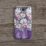 Purple wood floral iPhone 7 case, iPhone 7 Plus case S553B - Decouart - 2