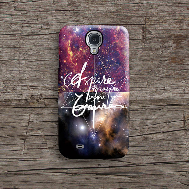 Galaxy quote iPhone 11 case S557 - Decouart