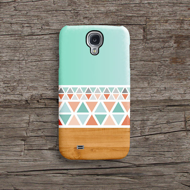 Aztec wood iPhone 12 case S558 - Decouart