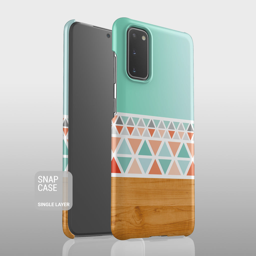 Aztec wood Samsung case S558 - Decouart