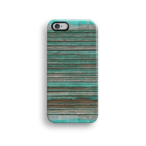 Green grunge wood iPhone 7 case, iPhone 7 Plus case S562B - Decouart - 1