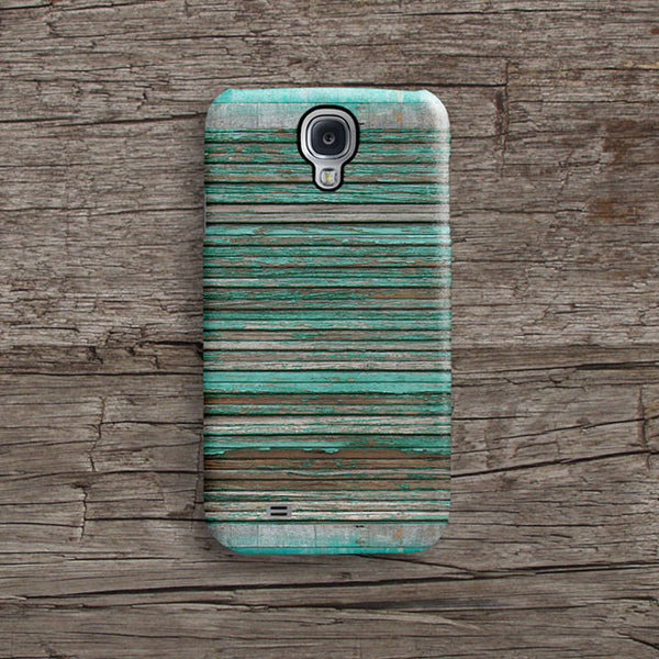Mint wood Samsung S5 case, Samsung S4 case S562B - Decouart - 1