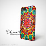 Tie dyed colourful iPhone 7 case, iPhone 7 Plus case S567 - Decouart - 3