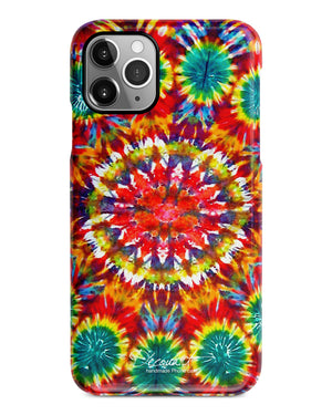 Tie dyed colourful iPhone 12 case S567 - Decouart
