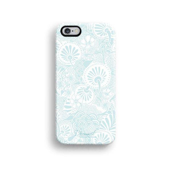 Floral iPhone 7 case, iPhone 7 Plus case S570 - Decouart - 1