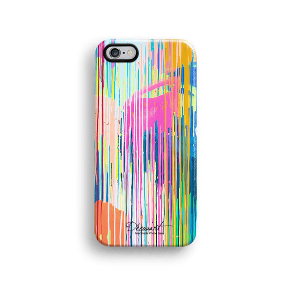 Colourful paint iPhone 7 case, iPhone 7 Plus case S575 - Decouart - 1