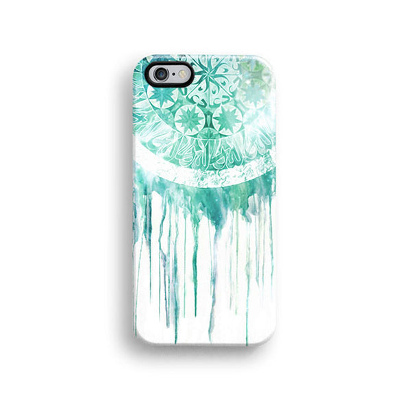 Dream catcher white mint iPhone 7 case, iPhone 7 Plus case S588 - Decouart - 1