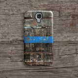 Wood with blue stripe iPhone 7 case, iPhone 7 Plus case S590 - Decouart - 2
