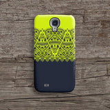 Lime and navy lace iPhone 7 case, iPhone 7 Plus case S600 - Decouart - 2