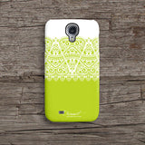 Green lace iPhone 7 case, iPhone 7 Plus case S602 - Decouart - 2