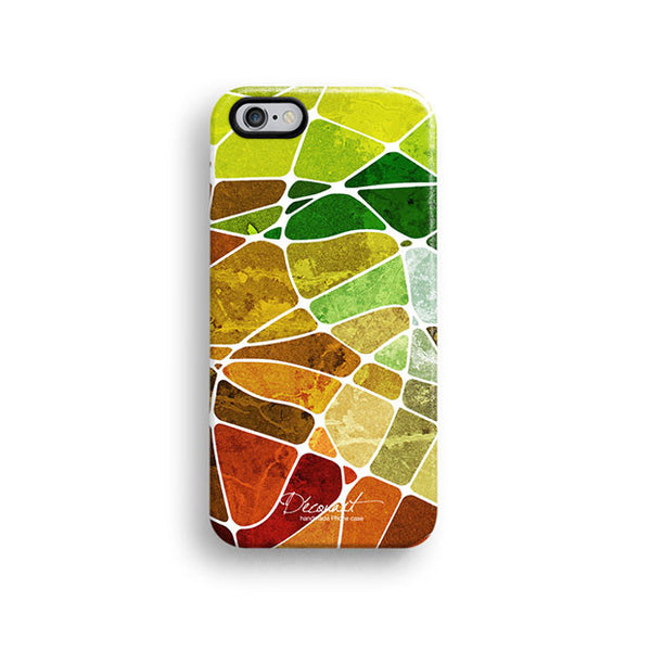 Colourful grunge texture iPhone 7 case, iPhone 7 Plus case S610 - Decouart - 1