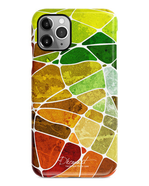 Colourful grunge texture iPhone 12 case S610 - Decouart