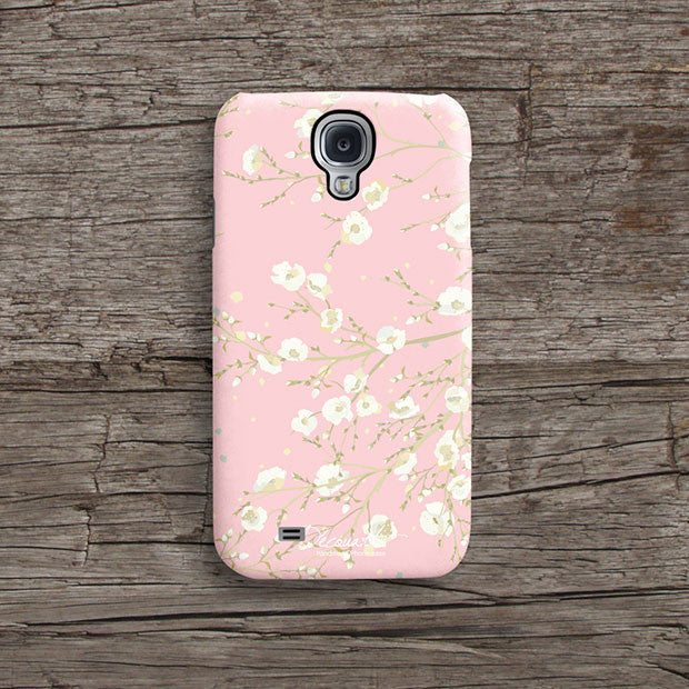 Pink floral iPhone 12 case S613 - Decouart