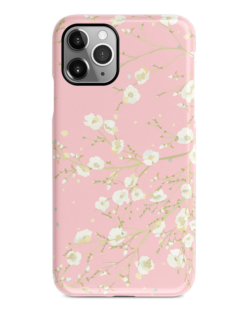 Pink floral iPhone 11 case S613 - Decouart