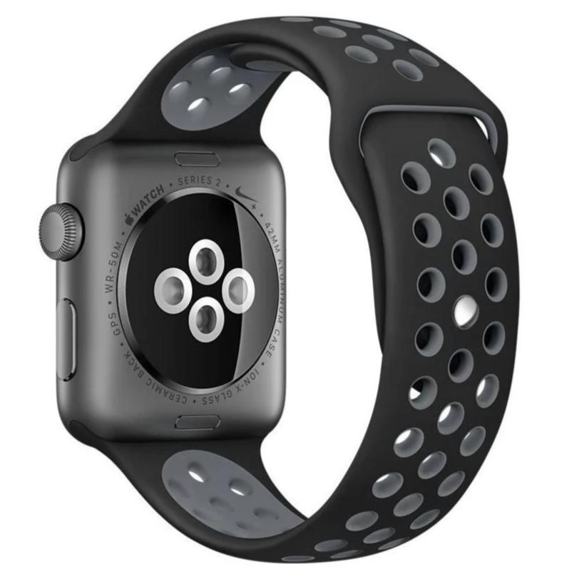 Decouart Perforated replacement Apple watch band - Decouart