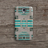 Mint aztec iPhone 7 case, iPhone 7 Plus case S637 - Decouart - 2
