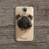 Cream Pug iPhone 7 case, iPhone 7 Plus case S643 - Decouart - 2