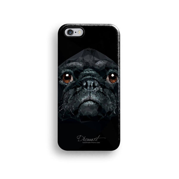Pug iPhone 7 case, iPhone 7 Plus case S645 - Decouart - 1