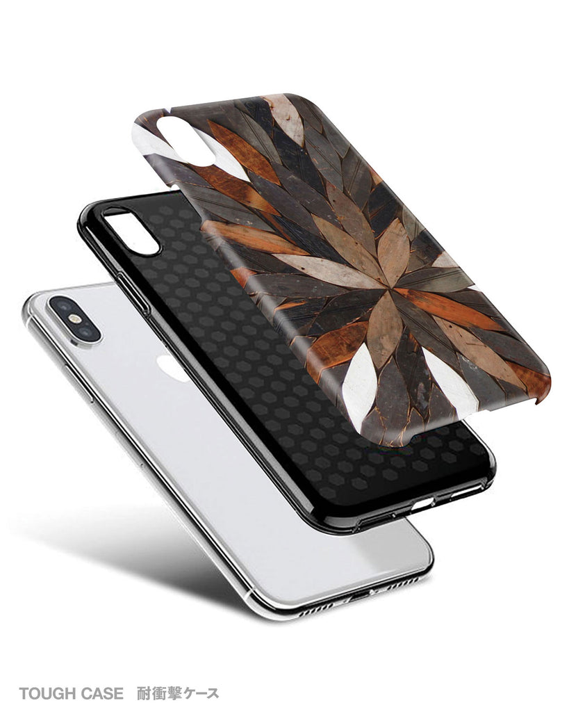 Nature iPhone 11 case S652 (NOT real wood) - Decouart