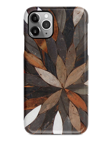 Nature iPhone 12 case S652 (NOT real wood) - Decouart
