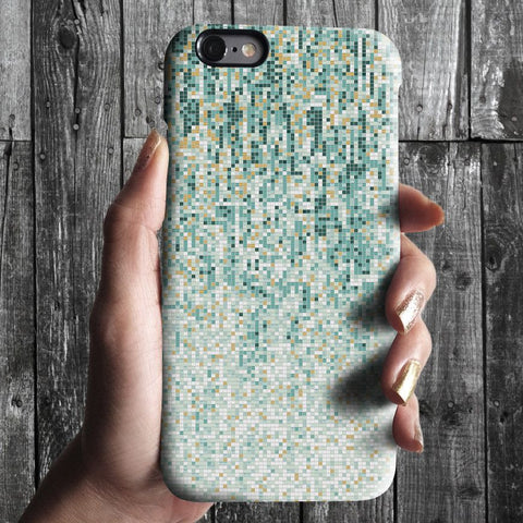 Abstract mosaic iPhone 7 case, iPhone 7 Plus case S654 - Decouart - 1