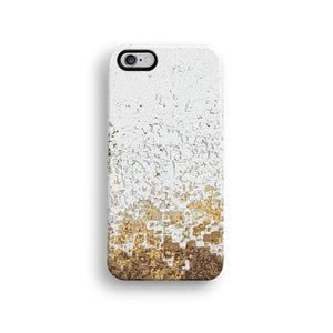 Peach mosaic iPhone 11 case S656 - Decouart