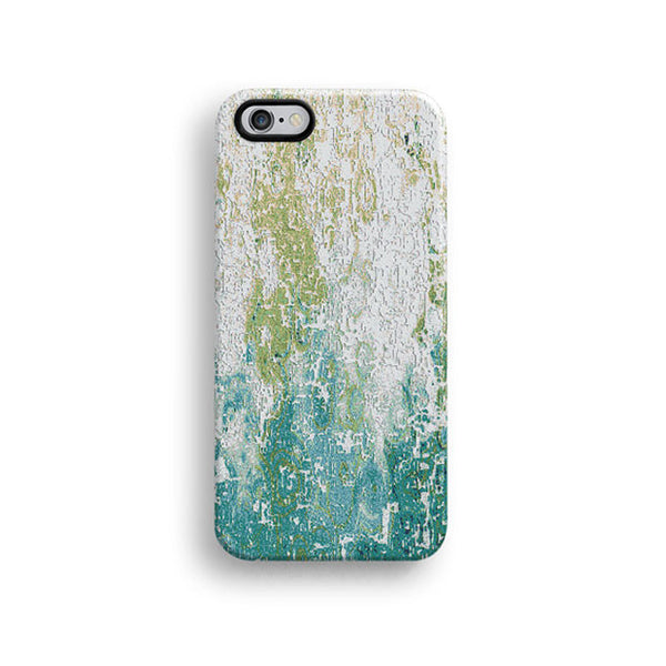 Mint abstract mosaic iPhone 6 case, iPhone 6 plus case S657 - Decouart - 1