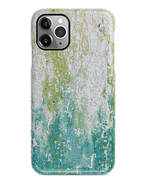Mint abstract mosaic iPhone 12 case S657 - Decouart