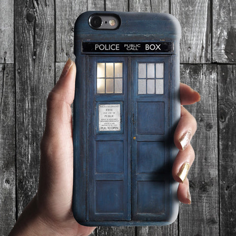 Tardis doctor who iPhone 7 case, iPhone 7 Plus case S661 - Decouart - 1