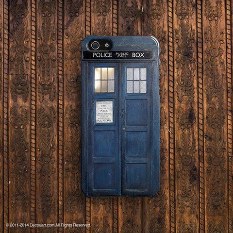 Tardis doctor who iPhone 7 case, iPhone 7 Plus case S661 - Decouart - 2