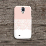 Pink lace floral iPhone 6 case, iPhone 6 plus case S667 - Decouart - 2