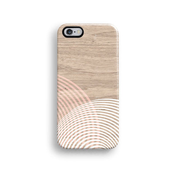 Geometric wood iPhone 7 case, iPhone 7 Plus case S671 - Decouart - 1