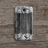 Black wood lace iPhone 7 case, iPhone 7 Plus case S674 - Decouart - 2
