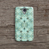 Mint floral iPhone 7 case, iPhone 7 Plus case S680 - Decouart - 2
