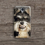 Geometric Schnauzer iPhone 7 case, iPhone 7 Plus case S697 - Decouart - 2