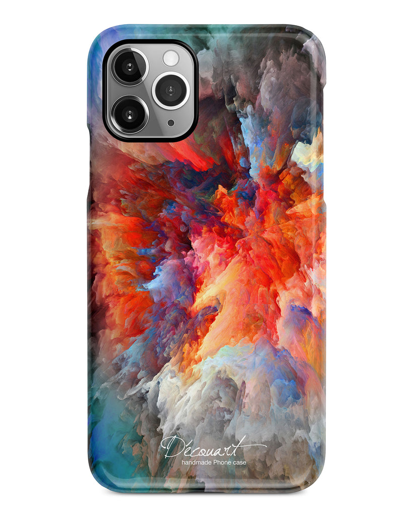 Abstract cloudscape iPhone 11 case S752 - Decouart