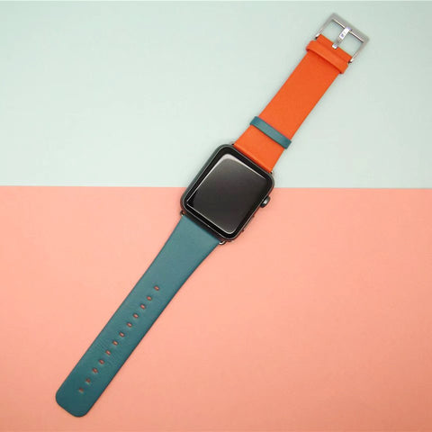 Decouart Duo tone Apple watch band - Decouart