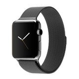 Apple watch band, Decouart Milanese loop Stainless Steel Gold Bracelet for 42mm 38mm - Decouart - 6
