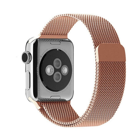 Rose Gold Decouart Milanese loop Stainless Steel Bracelet for 42mm 38mm - Decouart