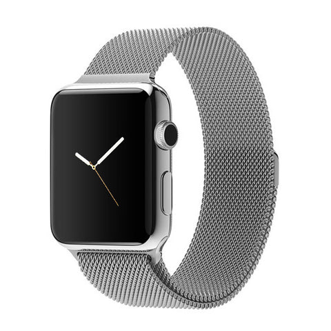 Apple watch band, Decouart Milanese loop Stainless Steel Bracelet for 42mm 38mm - Decouart