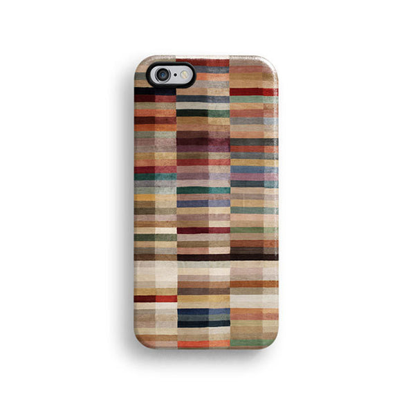 Geometric brown pattern iPhone 6 case, iPhone 6 Plus case S662 - Decouart - 1