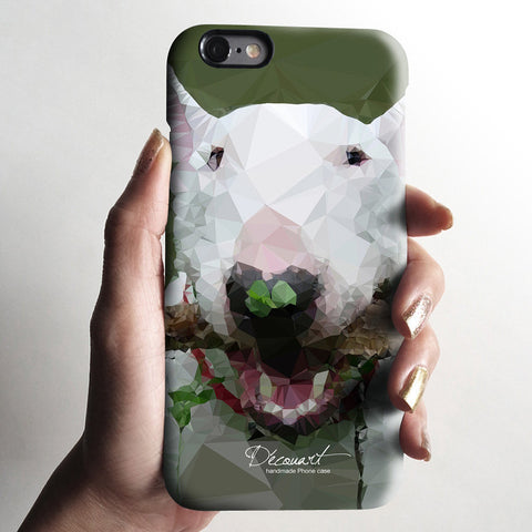 Bull terrier iPhone case S716 - Decouart