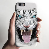Geometric tiger iPhone 11 case S698 - Decouart