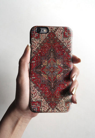 Persian carpet iPhone 7 case, iPhone 7 Plus case S076 - Decouart - 2