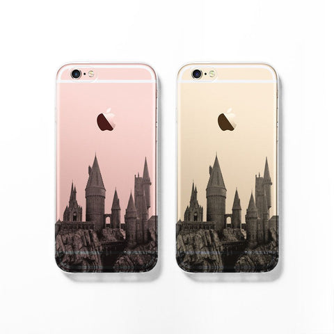 Hogwarts skyline iPhone 7 case C083 - Decouart