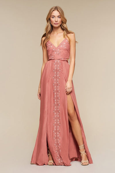 The Jetset Diaries Desert Rose Maxi Dress
