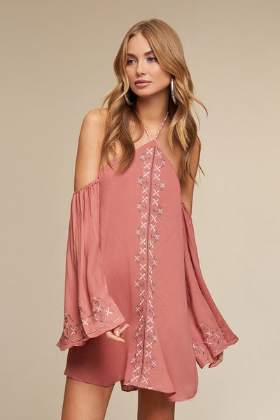 Jetset Diaries Desert Rose Mini Dress