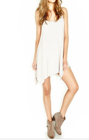 Michael Lauren Lang-Spaghetti Tunic Dress