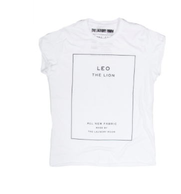 The Laundry Room Leo Label Rolling Tee Thrashed