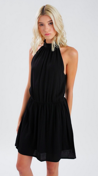 Eternal Sunshine McKenzie Halter Dress